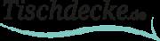 Logo Tischdecke